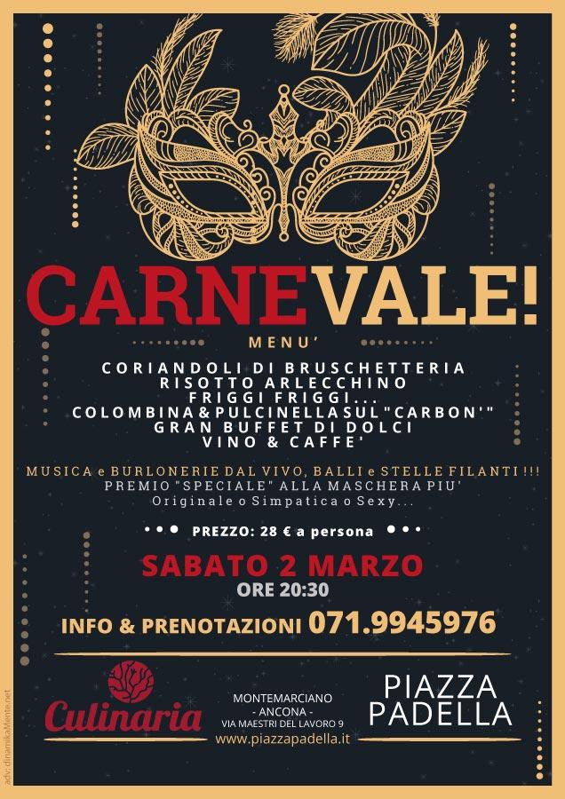 cena carnevale 2019 piazzapadella montemarcino